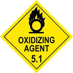 Dangerous Goods Class 5.1 Oxidizing Agent