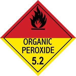 Dangerous Goods Class 5.2 Organic Peroxide