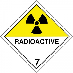 Dangerous Goods Class 7D Radioactive