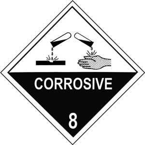 Dangerous Goods Class 8.0 Corrosive Substances